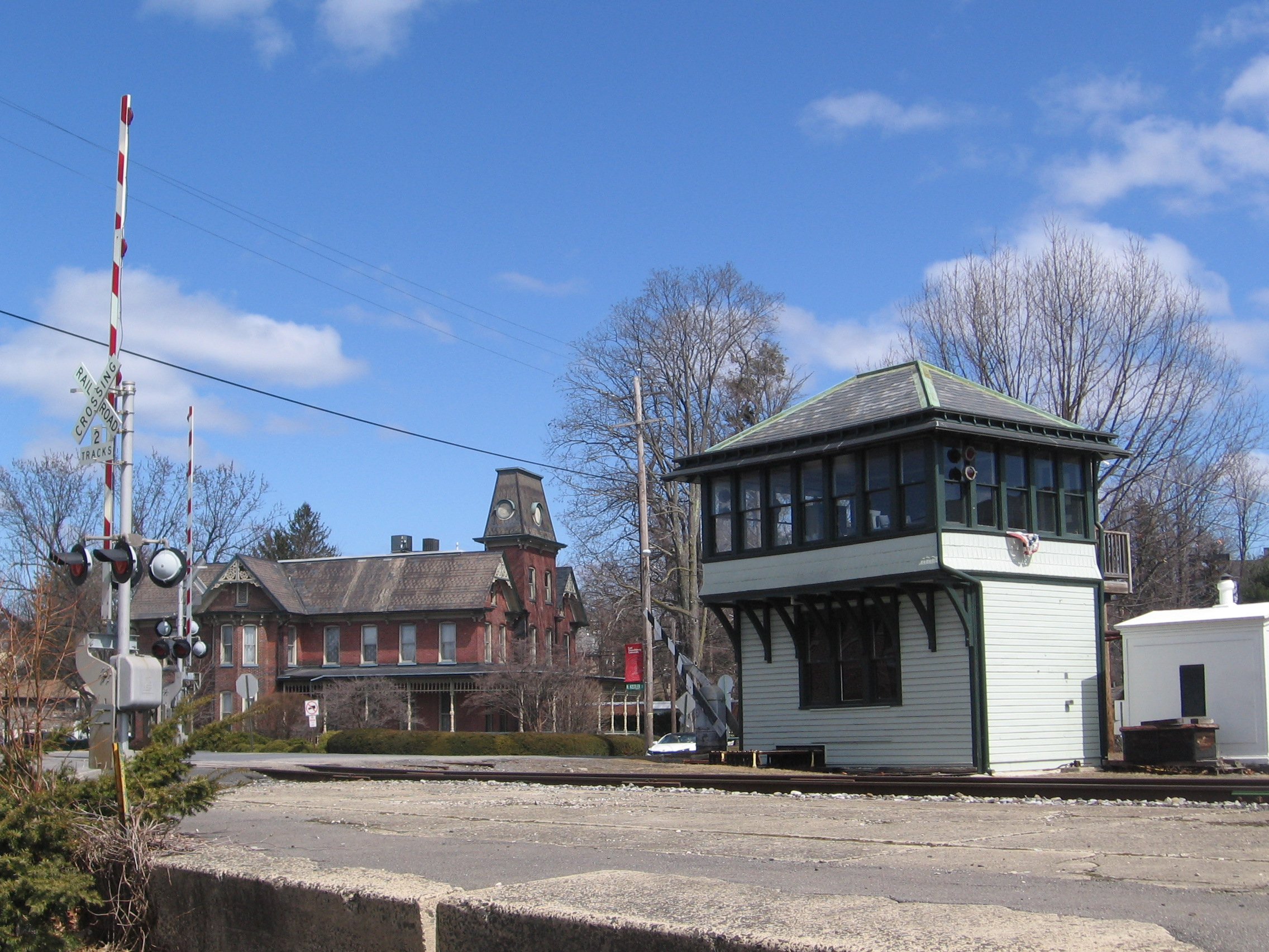 East Stroudsburg Railroad Tower