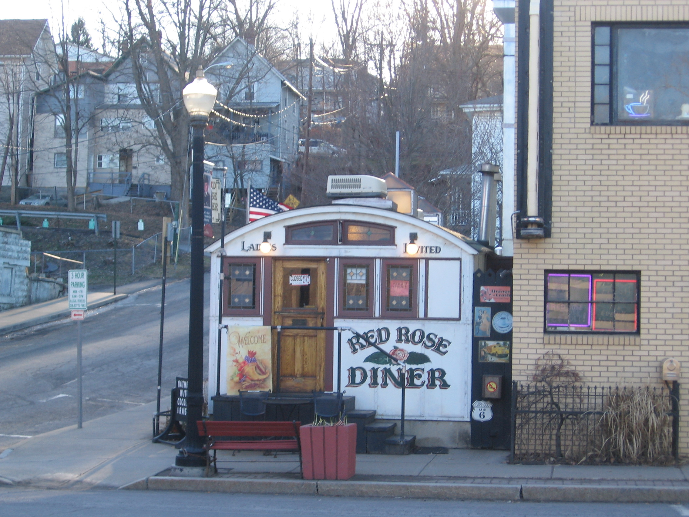 Towanda Landmark Red Rose Diner