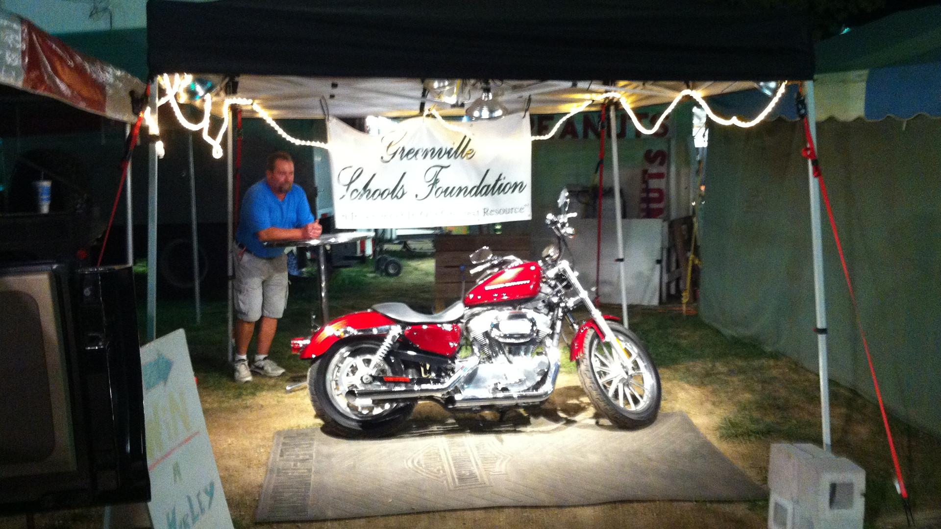 Harley Sportster School Raffle.JPG