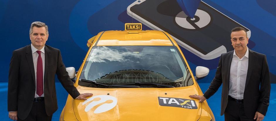 Taksiler Turkcell ile dijitalleşiyor