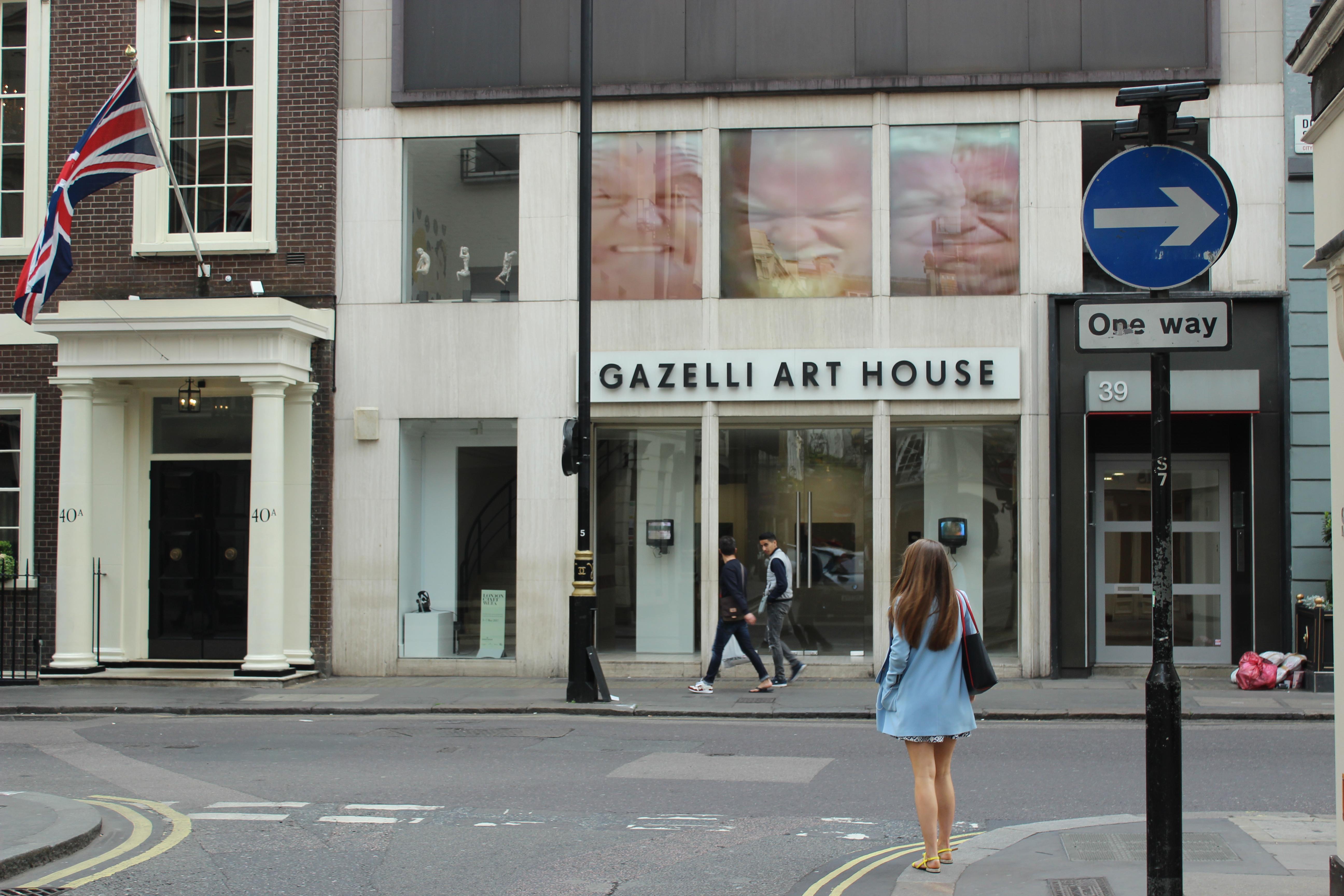 Gazelli Art House Window Project