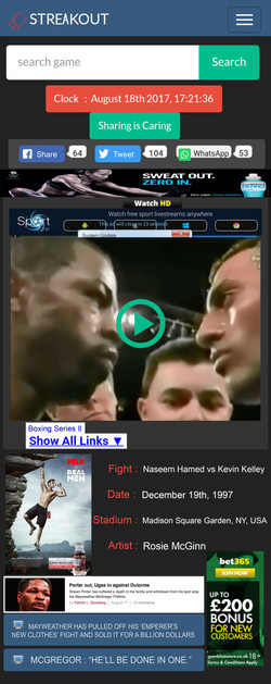 Boxing Stare Downs (2)