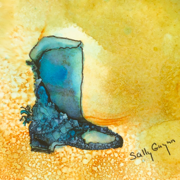 """""""The Quintessential Blue Boot"""""""