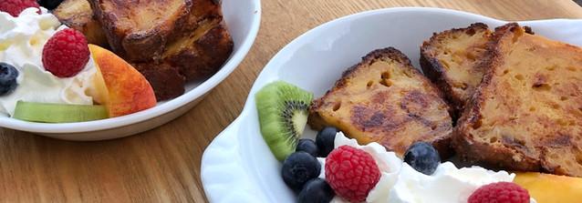 Fruits et pain perdu, Le Petit Manoir de la Vernelle