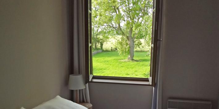 View from La Gobine, Le Petit Manoir de la Vernelle