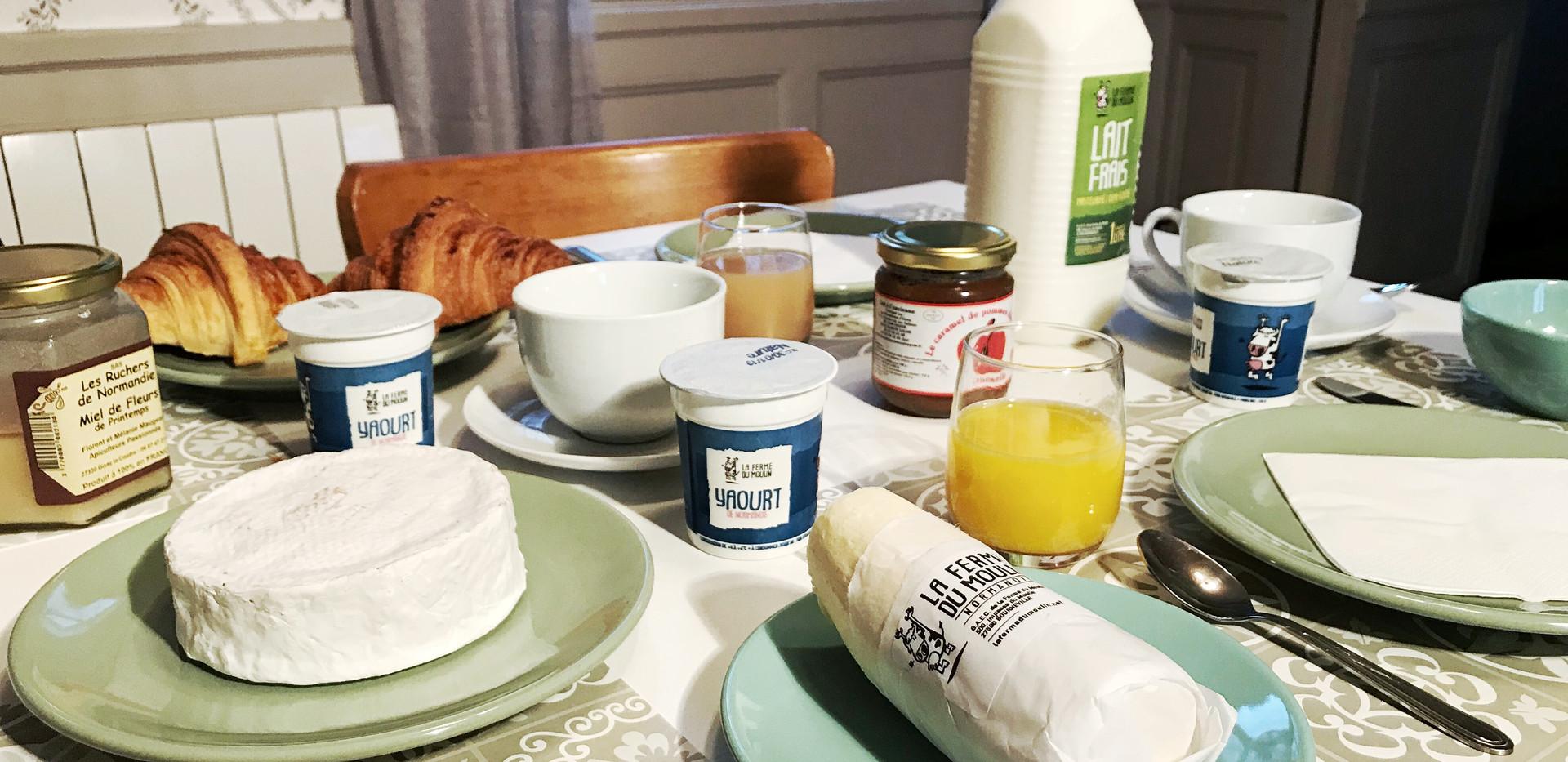 Produits laitiers de la ferme du moulin, Le Petit Manoir de la Vernelle