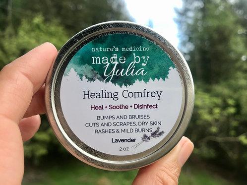 Healing Comfrey + Lavender