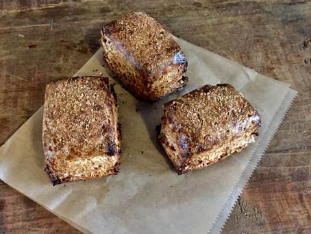 スペルト小麦のパンとスコーン、締め切りは今日です。