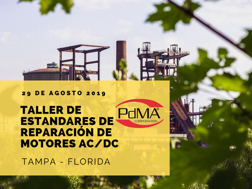 Normas de Reparación de Motores AC/DC y las Soluciones a Motores de Dos Polos, 29 de agosto 2019