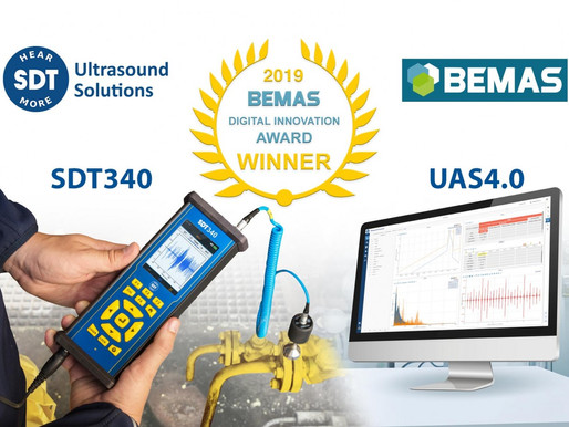 SDT International Gana el Noveno Premio de Innovación Digital BEMAS, 22 de abril 2019
