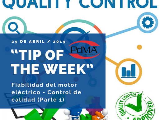 """TIP OF THE WEEK"" de Pdma Corporation, 29 de abril 2019"