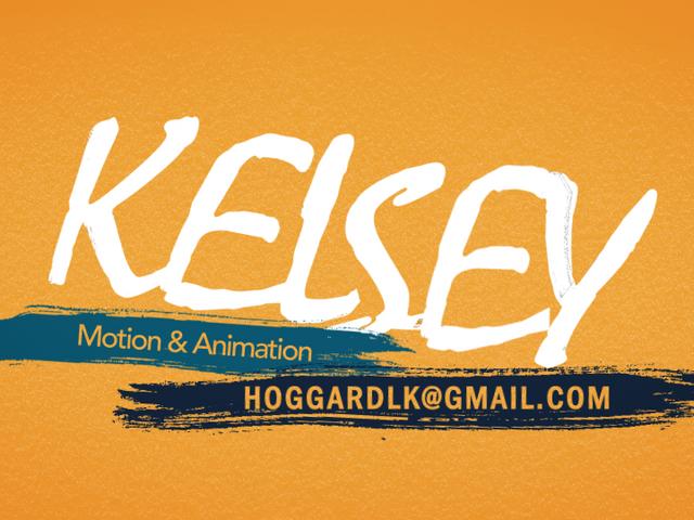 Kelsey Hoggard   Reel