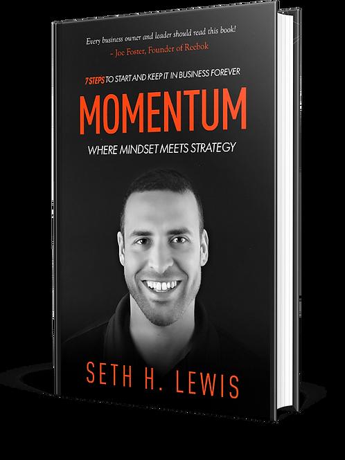 E-BOOK: MOMENTUM, WHERE MINDSET MEETS STRATEGY : PAPERBACK