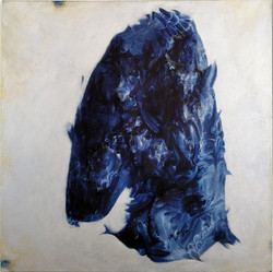 SAMIORIT, 2021, Oel&Acryl auf Baumwolle, 63x64 cm