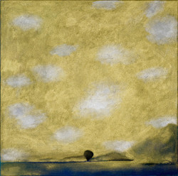 SUBALAT, 2020, Oel auf Baumwwolle, 45x45 cm