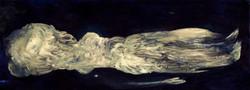 SIPOLATA, 2021, Oel auf Baumwolle, 125x45 cm