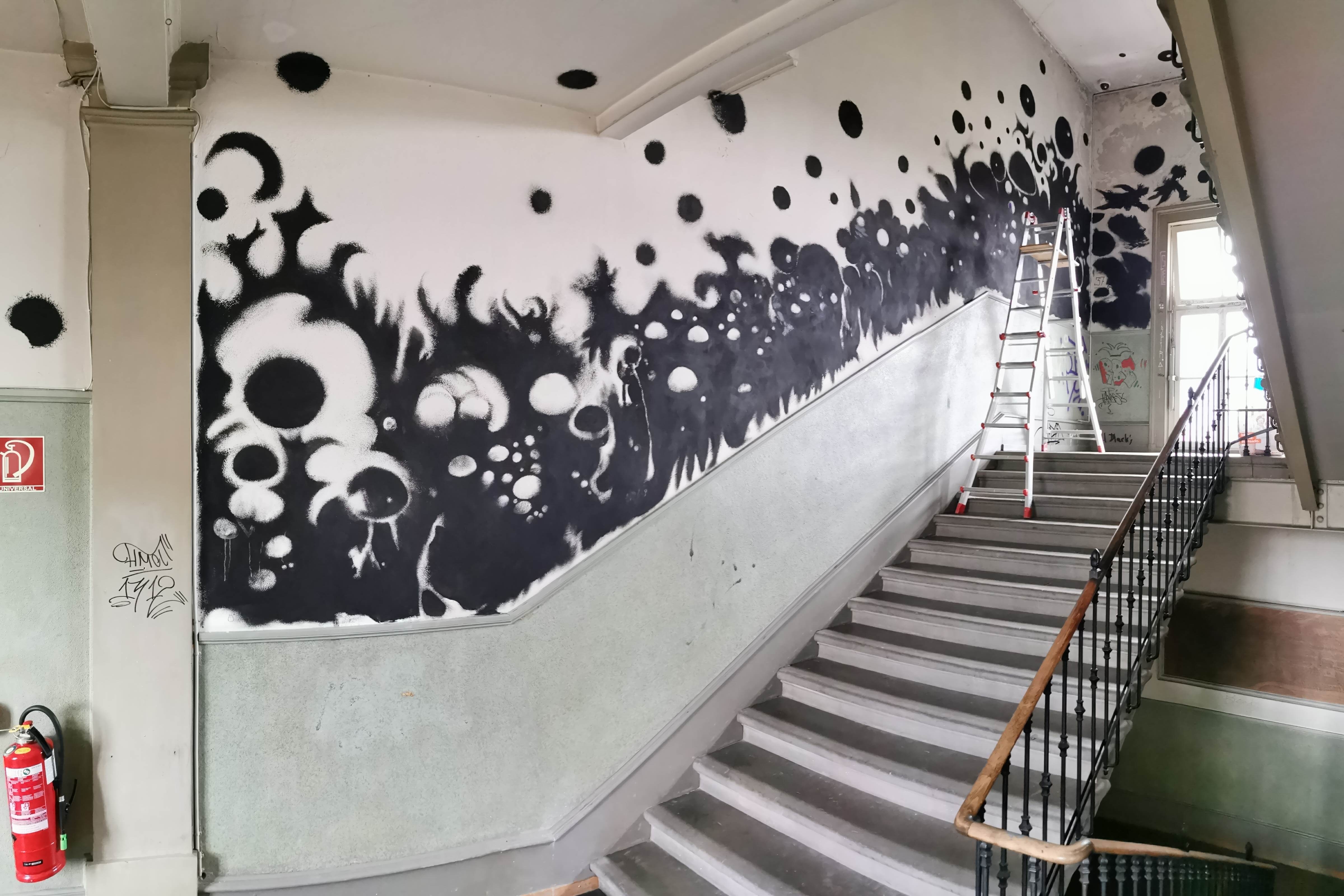 Wall painting Progr Bern 2019
