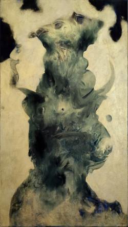 TRABULIMORA, 2021, Oel auf Baumwolle, 80x45 cm