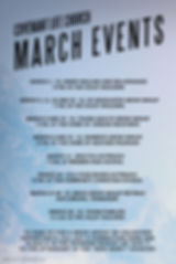 March Events 2020 - Made with PosterMyWa