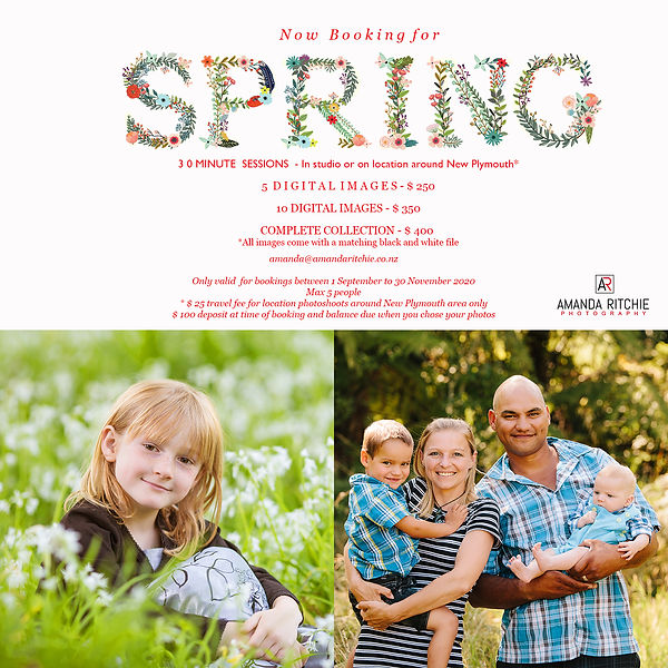Amanda Ritchie Photography Spring Minis