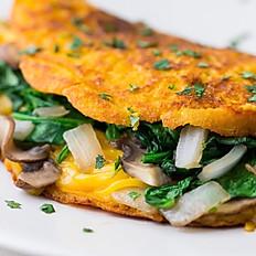 Roasted Veggie Omelette