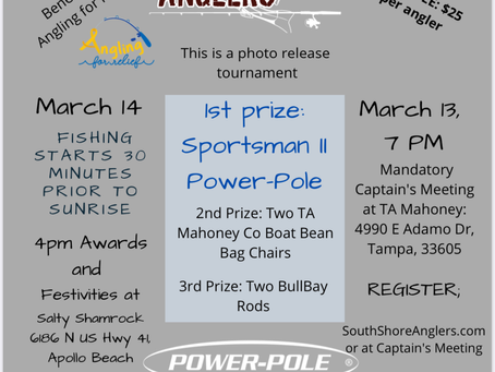 Fishing Club Hosts Tournament to Benefit Pediatric Cancer Patients