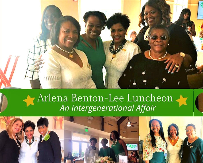 First Annual Arlena Benton-Lee Luncheon~