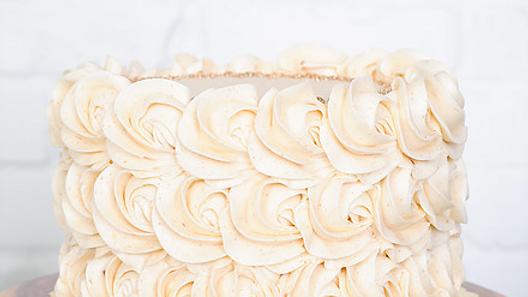 Pumpkin Ganache Brown Butter Cake