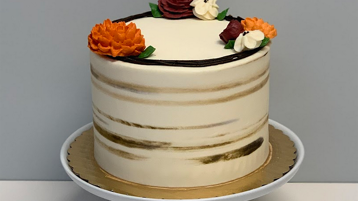 GRAPEVINE WREATH CAKE