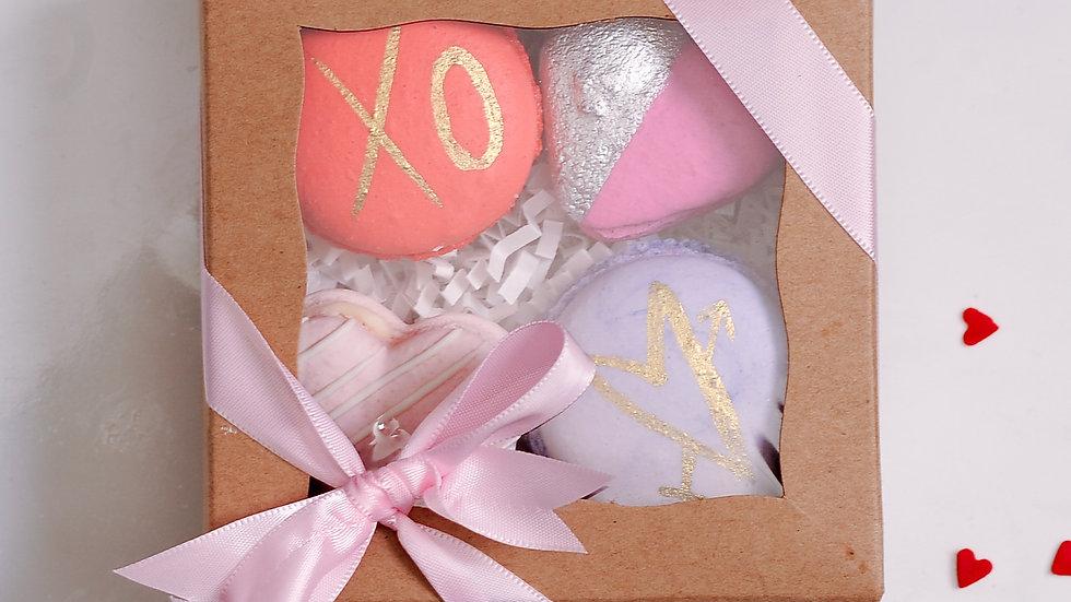 Hand-Painted Macaron Gift Set