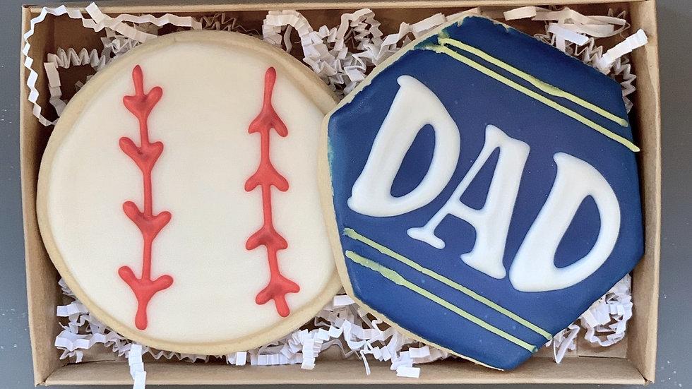 Baseball Sugar Set