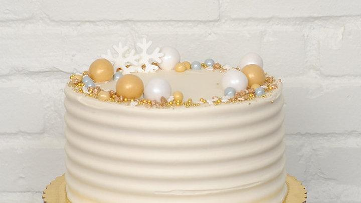 VANILLA CRANBERRY CHAMPAGNE CAKE