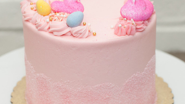 Berry Peep Cake