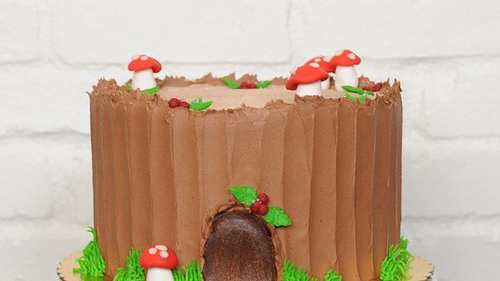 Yule Stump Cake