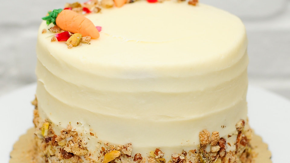 Carrot Candied Nut Cake