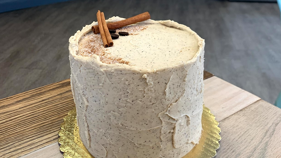 Chai Latte Cake