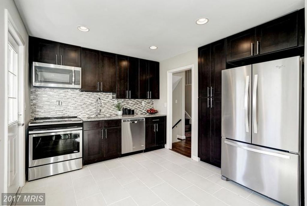 custom kitchen in small space