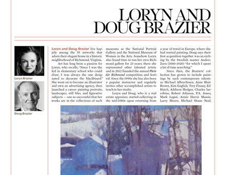 Recent Feature in Fine Art Connoisseur Magazine