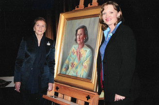 Holladay Portrait Unveiling Smithsonian National Portrait Gallery.j