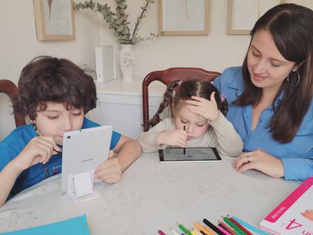 Organizar las Clases Online de los niños.