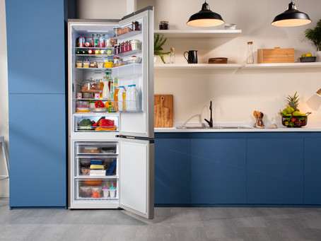 Refrigeradores Bottom Mount Freezer de Samsung llegan diseñados para maximizar el espacio