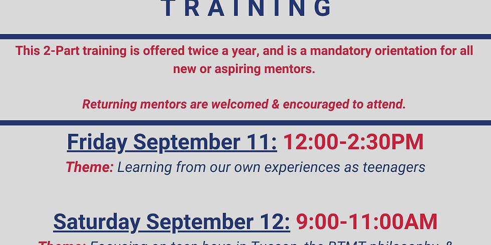 Mentor Facilitation Training