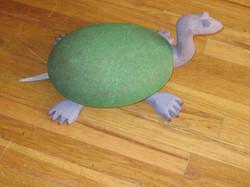 Long-necked turtle (stone)