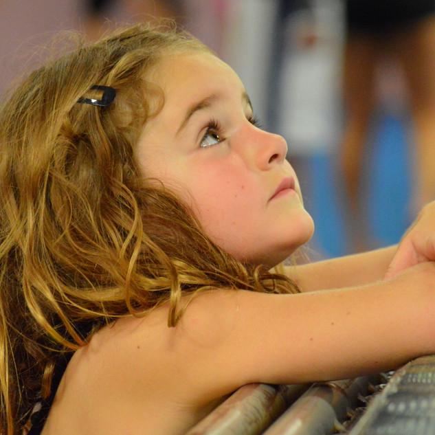 Phoebe at gymnastics