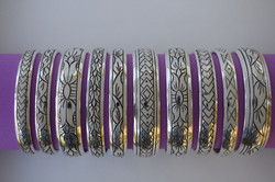 a sample of production bracelet