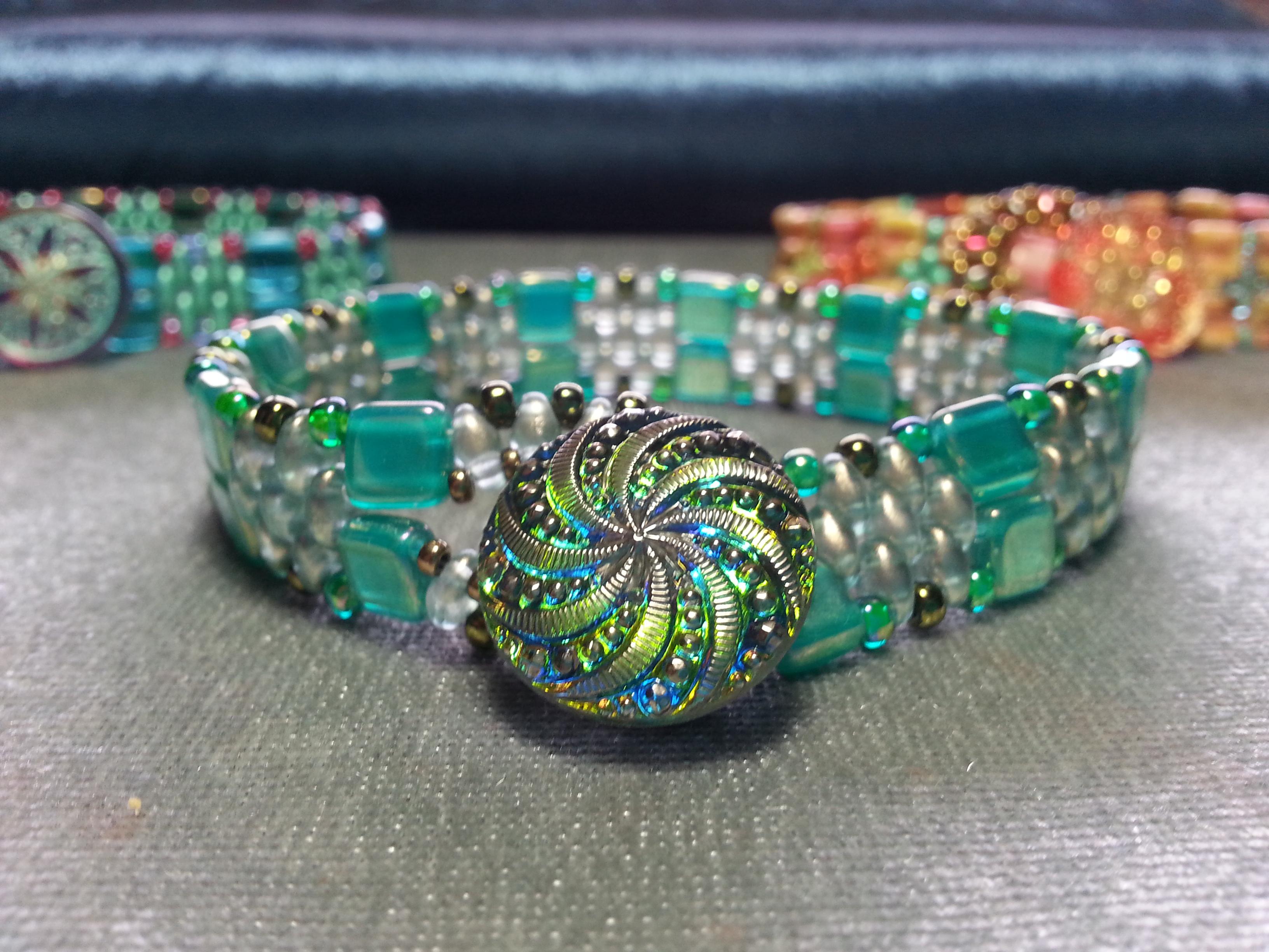 Ocean Swirl Bracelet