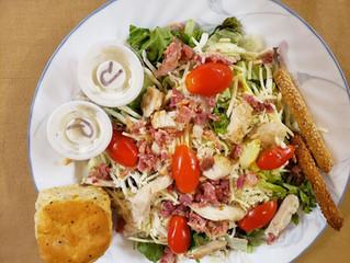 Salads too!
