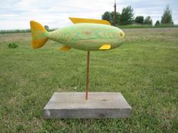Fish (wood, copper)