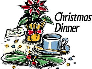 Christmas Dinner at the Community Center
