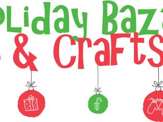 Holiday Bazaar December 7!